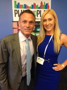 Kevin Harrington and Katrina Starz