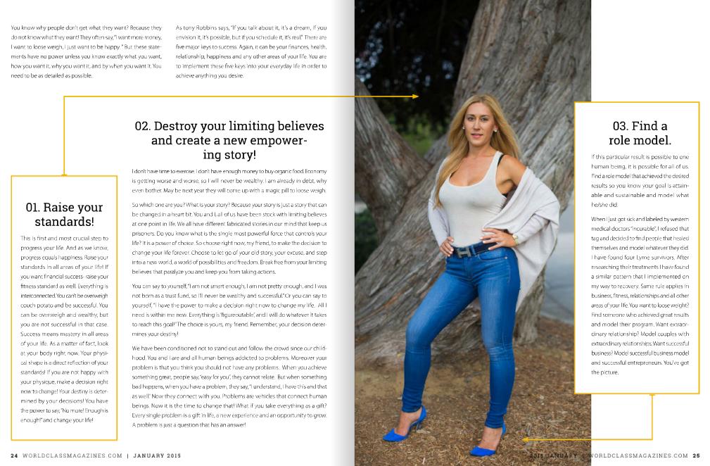 Katrina Starzhynskaya worldclass magazines