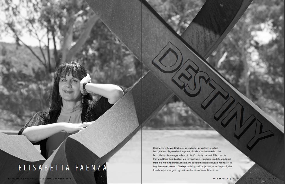 Elisabetta Faenza WORLDCLASS Magazines