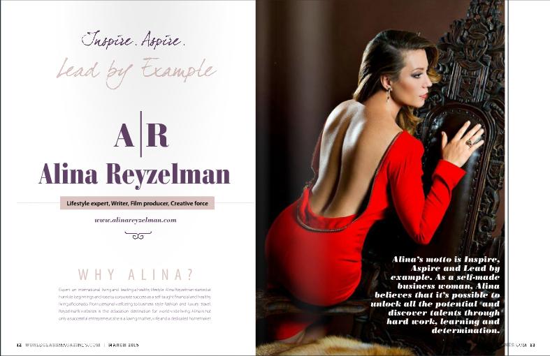 Alina Reyzelman Worldclass Magazines