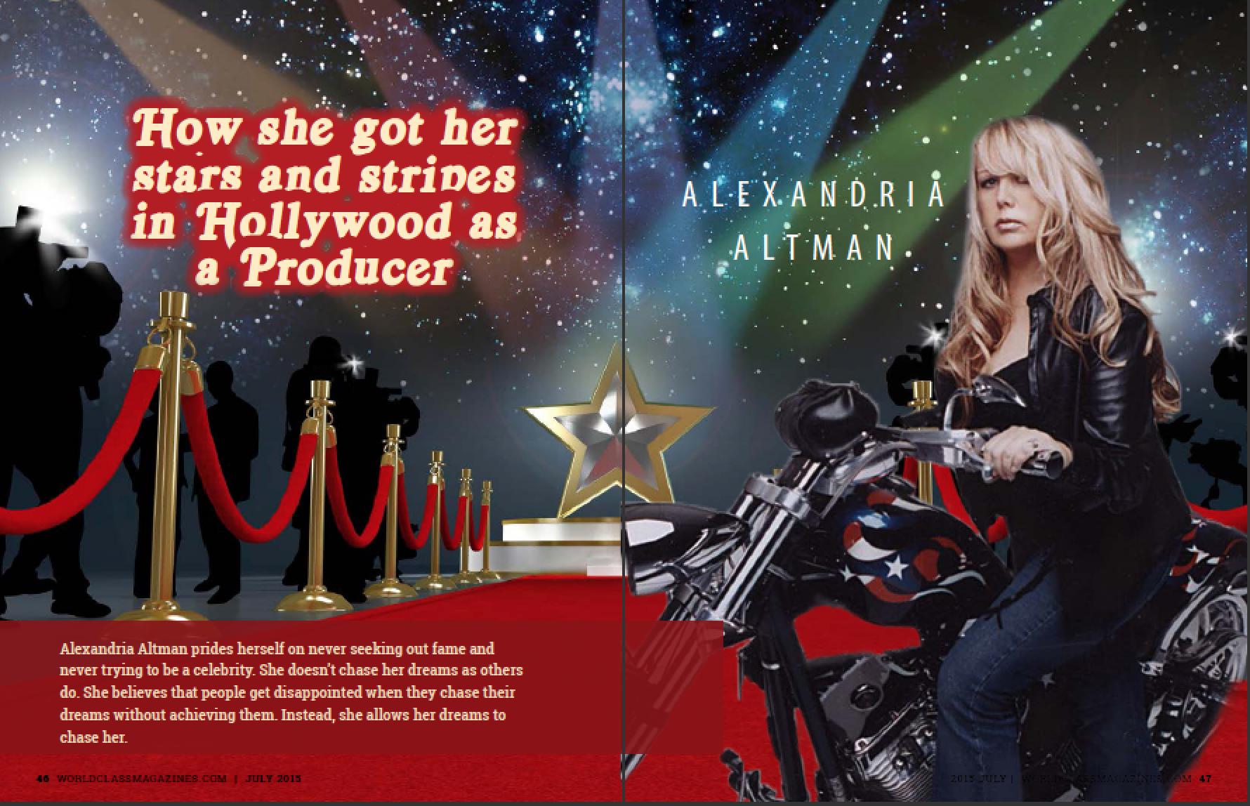 Alexandria Altman | WORLDCLASS Magazines