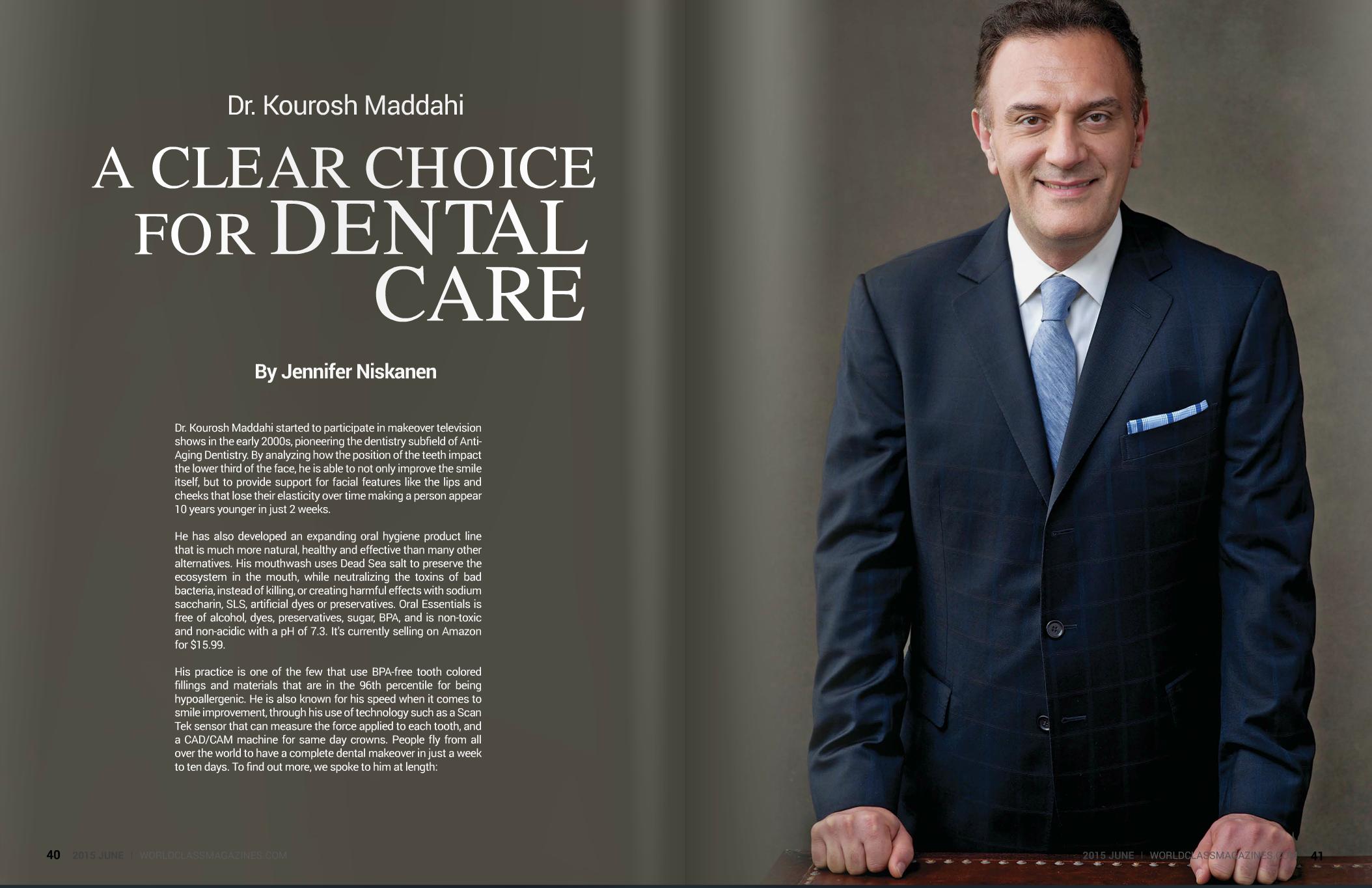 Dr. Maddahi | #WORLDCLASS Magazines
