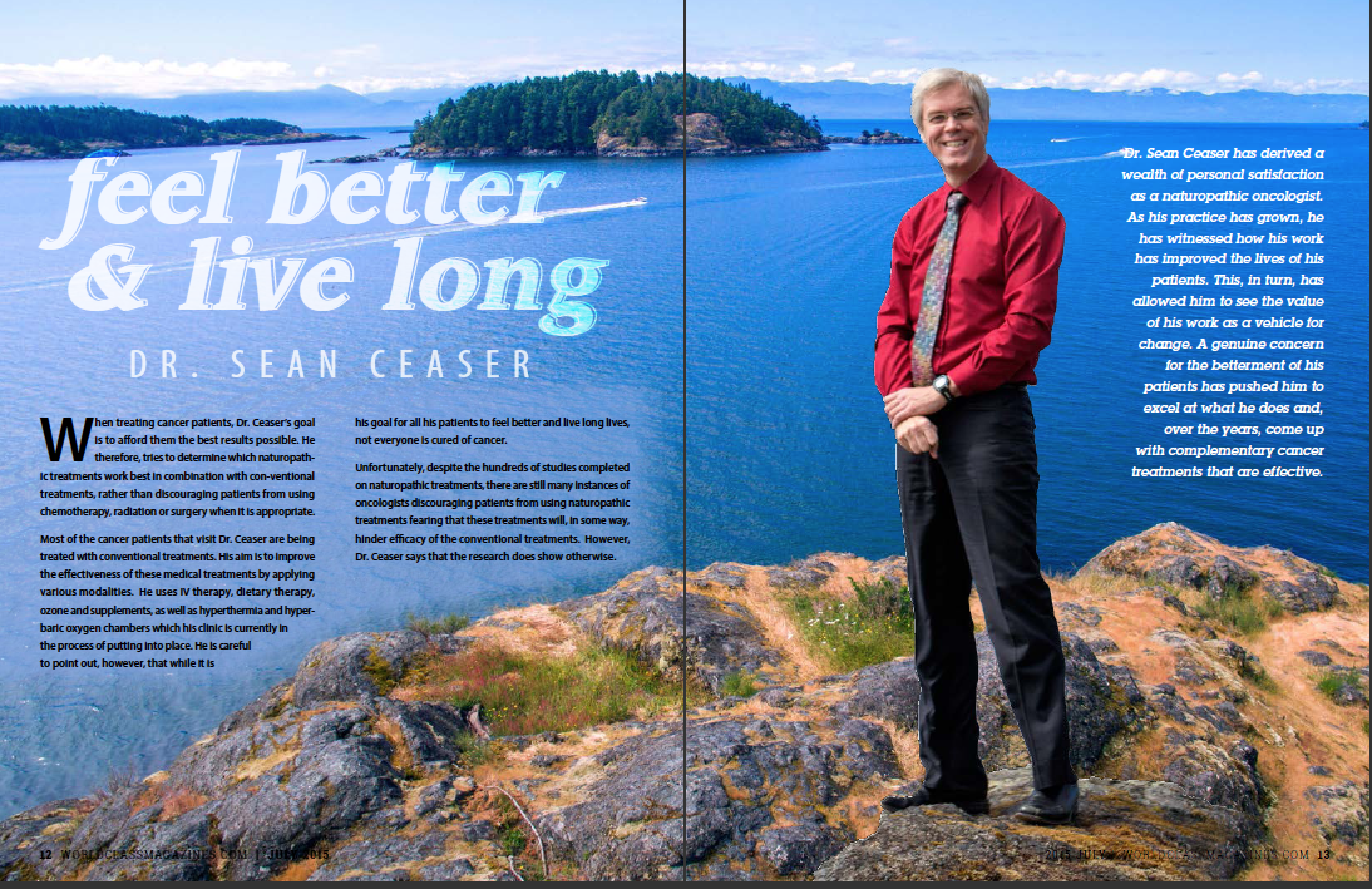 Dr Sean Ceaser | #WORLDCLASS Magazines