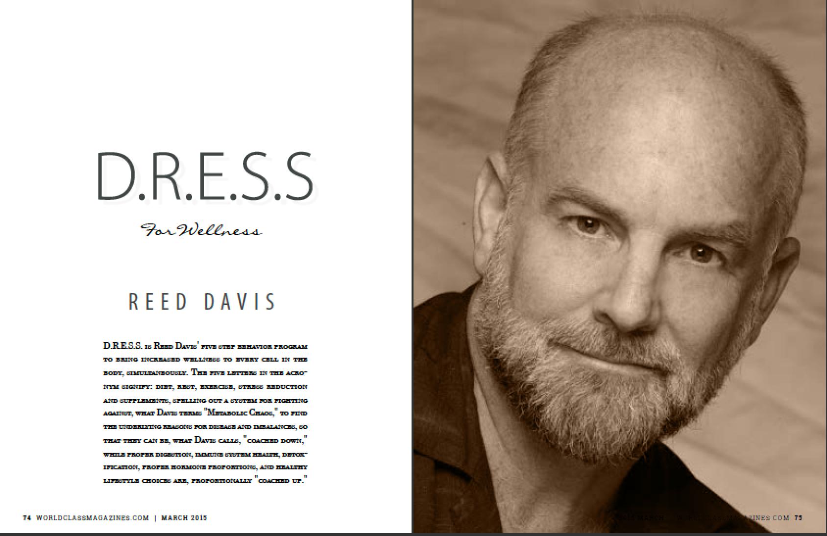 Reed Davis | #WORLDCLASS Magaizines