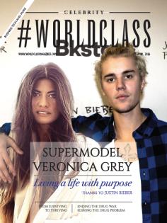 Veronica Grey and Justin Bieber