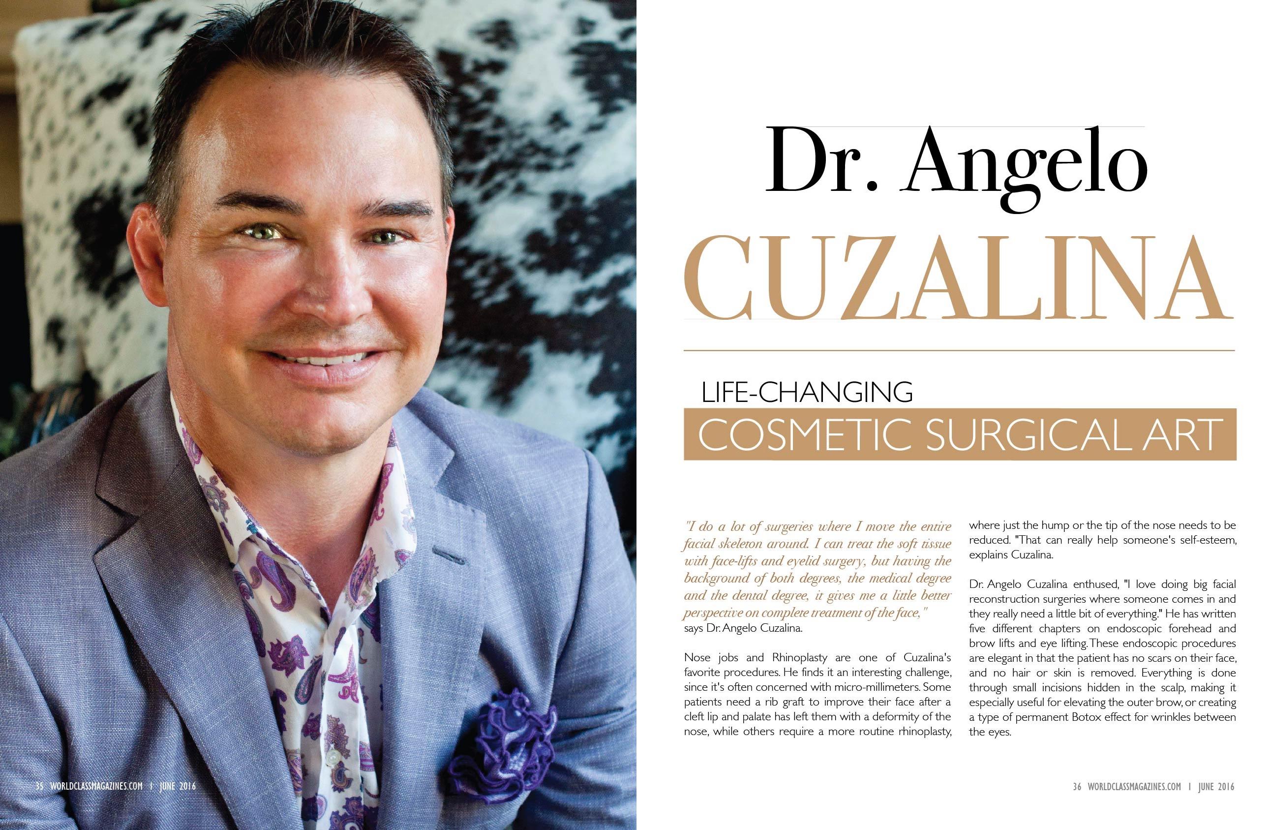DR Angelo Cuzalina