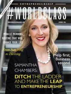 Samantha Chambers | Worldclass Magazines